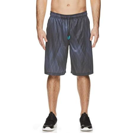 AND1 Big Men's Post-Up Basketball Shorts