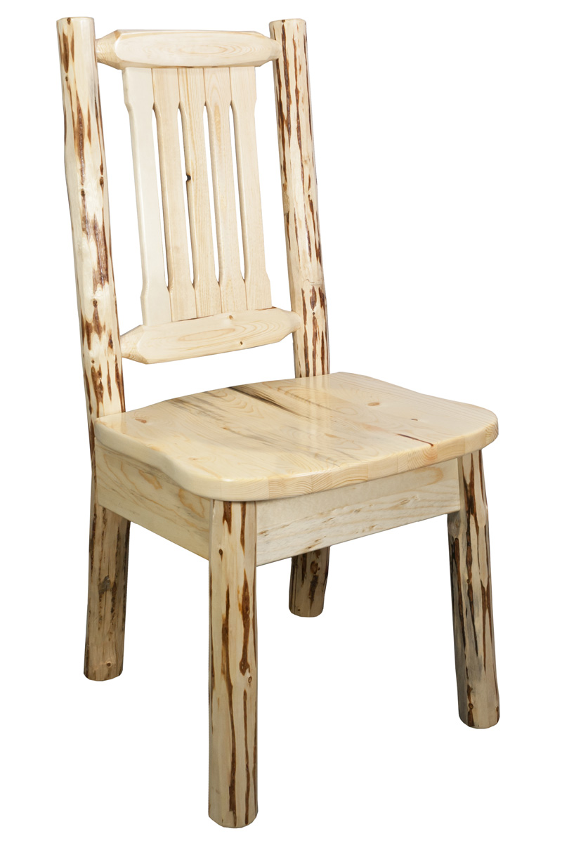 Montana dining chair - unfinished  sc 1 st  Walmart & Montana dining chair - unfinished - Walmart.com