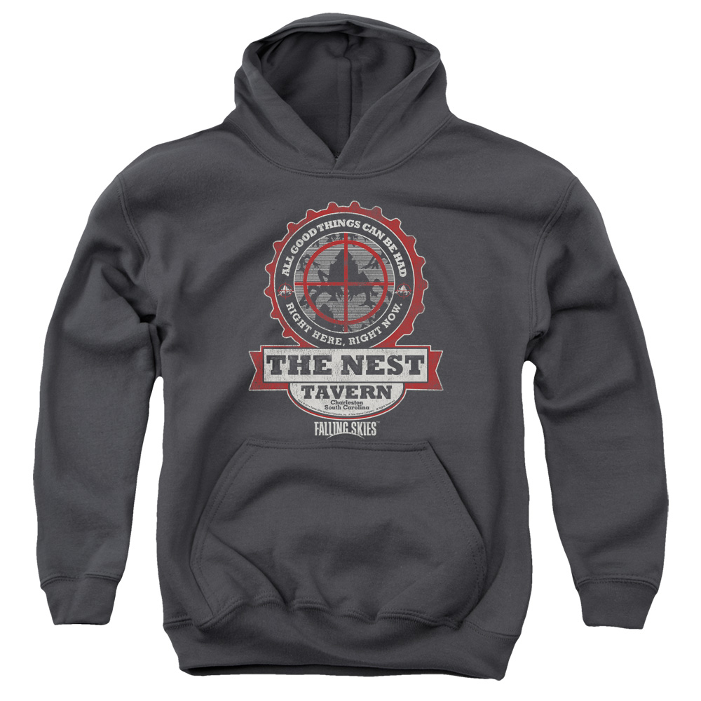 Falling Skies The Next Big Boys Pullover Hoodie