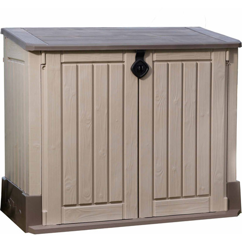 Keter Store-It-Out Midi 30-Cu Ft Resin Storage Shed All  sc 1 st  Walmart & Sheds u0026 Outdoor Storage - Walmart.com