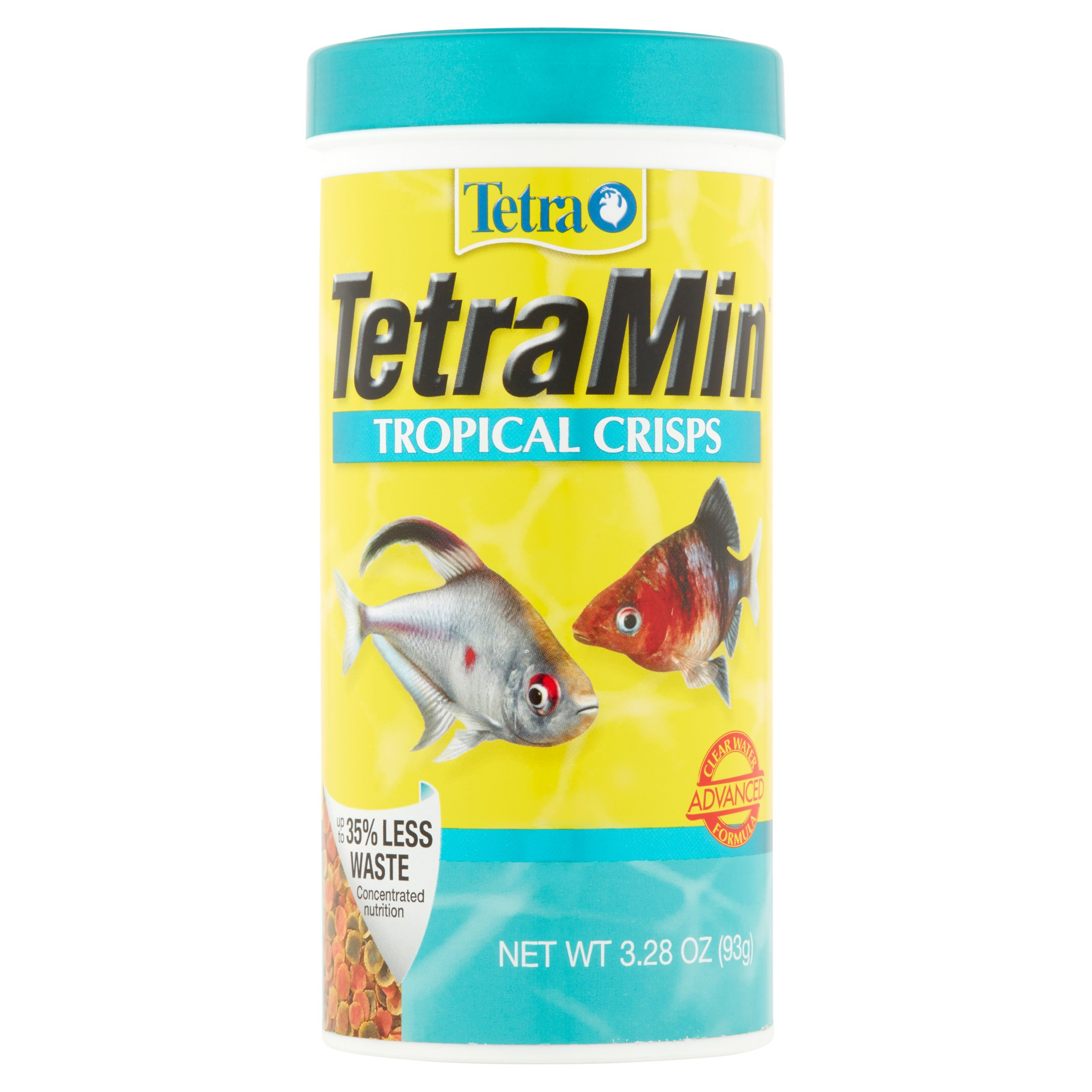 Tetra TetraMin Tropical Food Crisps, Tropical Fish- 3.28 oz