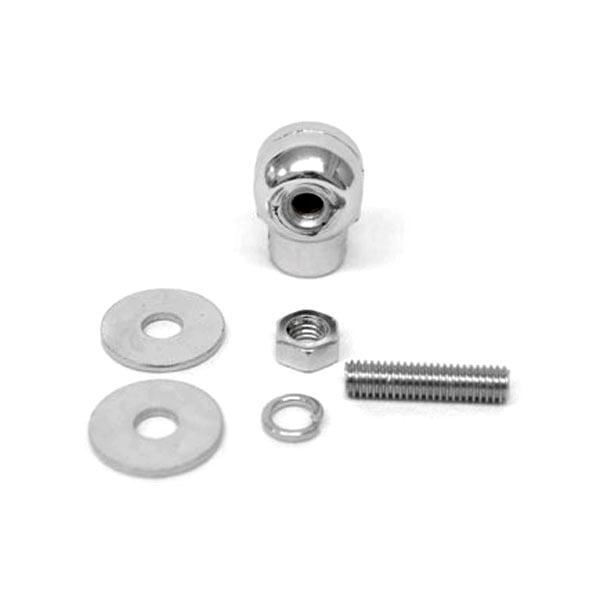 Custom Chrome Skeleton Skull Bolt Nuts Screws 6mm For Suzuki Boulevard S40 S50 S83 - image 4 de 5