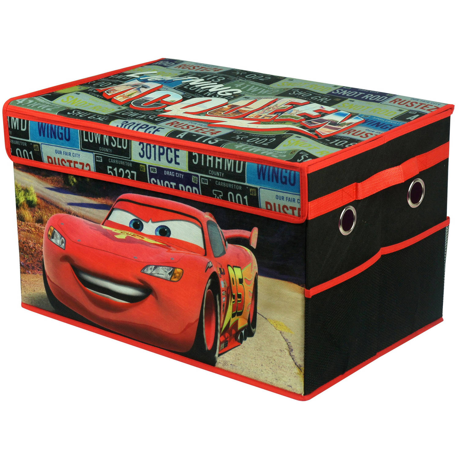Cars Collapsible Toy Storage Trunk