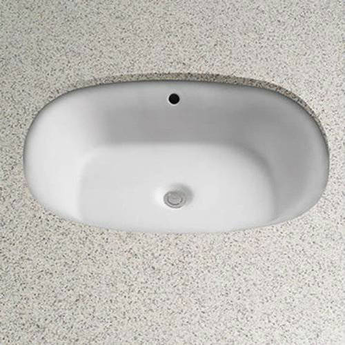 "Toto Maris 20-3/8"" Undermount Bathroom Sink with Overflow and SanaGloss Ceramic Glaze, Available in Various Colors"