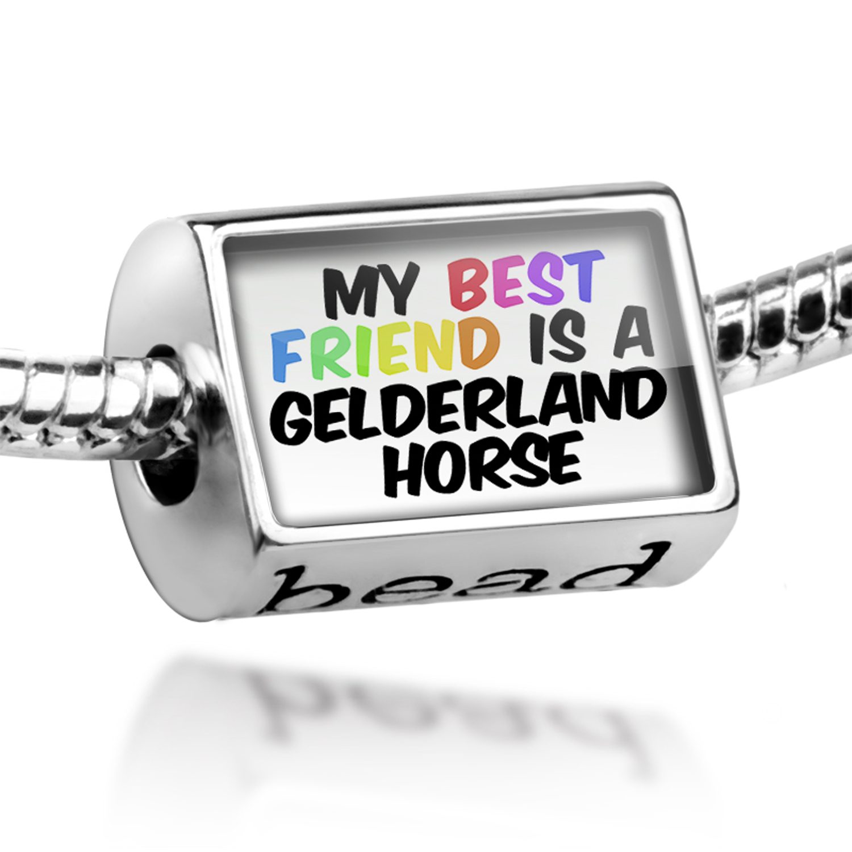 Bead My best Friend a Gelderland Horse Charm Fits All European Bracelets