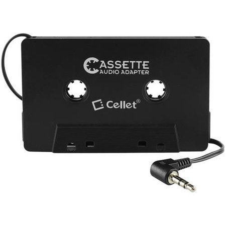 Cellet Cassette Audio Adapter for iPhones iPods Android Phones MP3 Players Mp3 Accessories Set