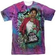 Suicide Squad Waller Psychedelic Cartoon Mens Sublimation Shirt