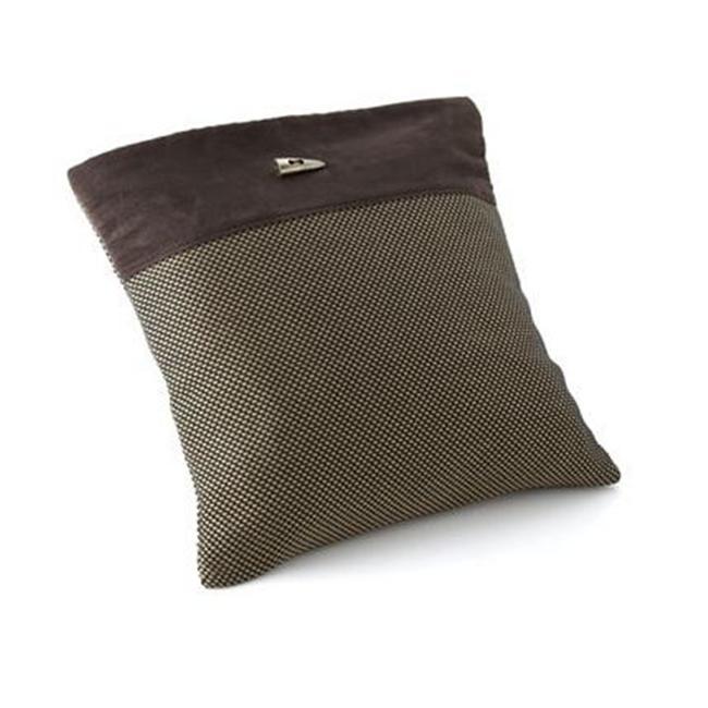 Chicology LNSS0719 Audrick Black Khaki Pillow Cover no.  22
