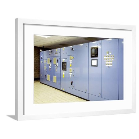 Control Panel Framed Print Wall Art By Paul -