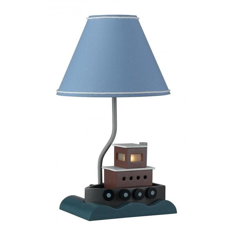 Cal Lighting Fish Boat Lamp in Multi Color by CAL Lighting