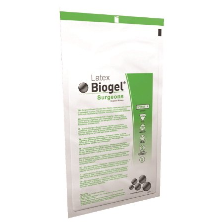 Surgical Glove Biogel Surgeons Sterile Straw Powder Free Latex Hand Specific Micro-Textured - Size 9 - 40 Each / Box - 34901300 (Biogel Surgical Gloves)