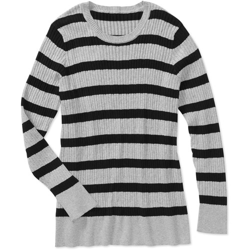Women's Plus-Size Scoopneck Cable Sweater
