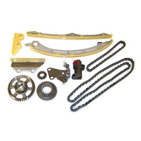 DNJ TK227 Timing Chain Kit for 2002-2011 Acura Honda 2.4L L4 16V DOHC K24A1 K24A2 K24A4 K24A8 K24Z1 [iVTEC VTEC]