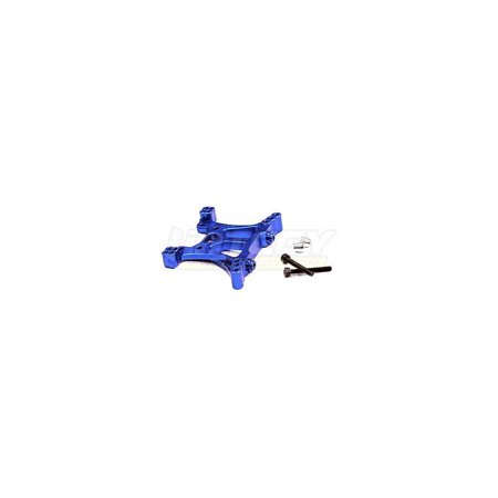 Riding Heel - integy hobby rc model t8543blue billet machined front shock tower for traxxas 1/10 slash 4x4