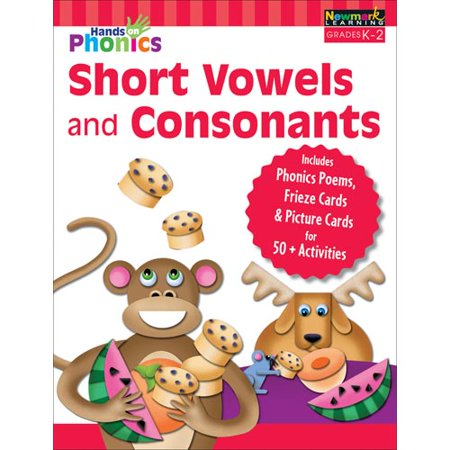 (Hands-On Phonics : Short Vowels and Consonants (Gr K-2))
