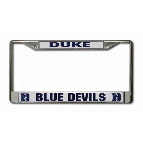 NCAA - Duke Blue Devils Chrome License Plate Frame