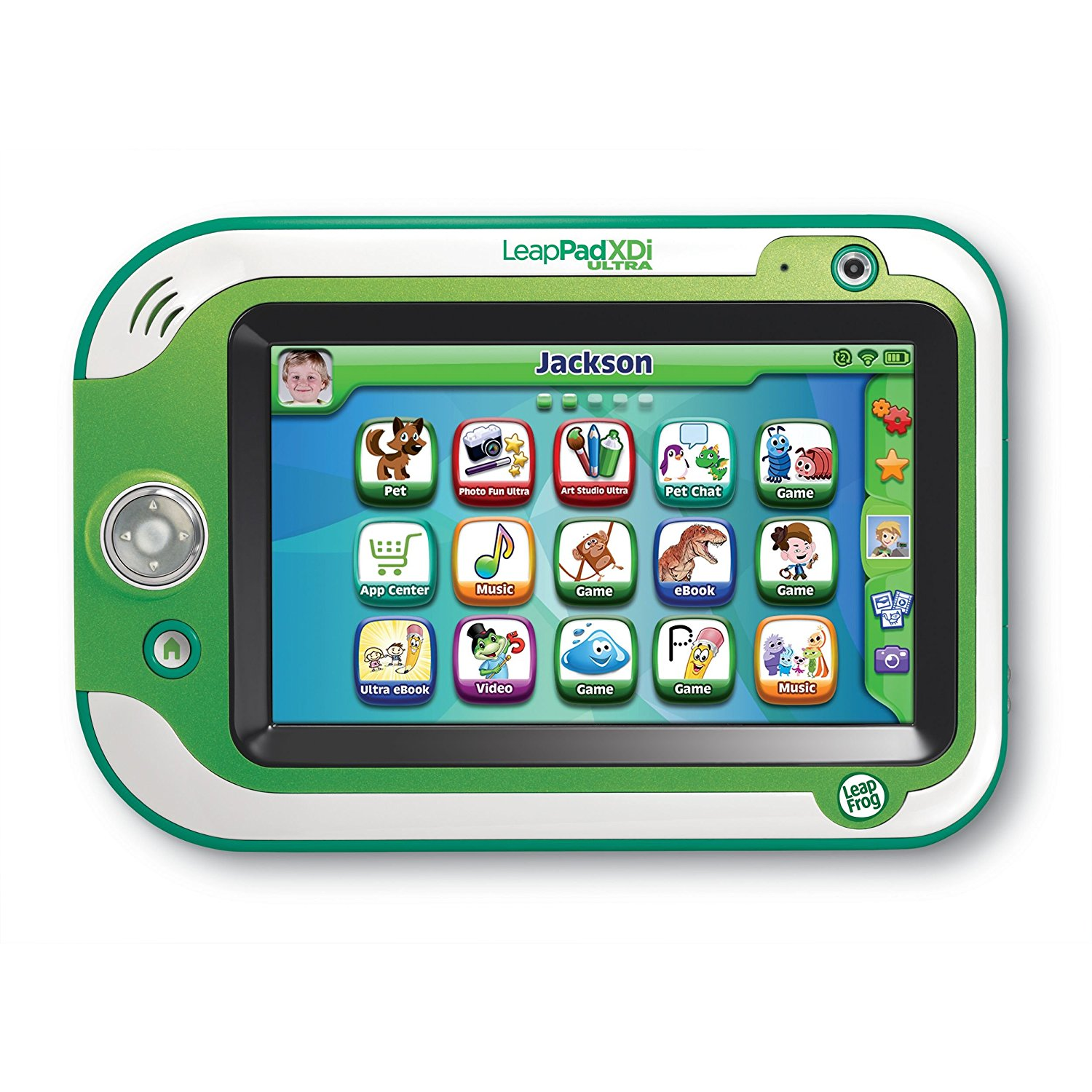 LeapFrog LeapPad Ultra XDi Kids Learning Tablet (Frustration Free Packaging), Green by
