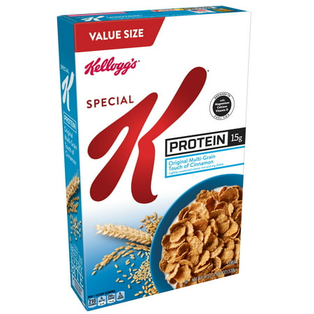 (2 Pack) Kellogg's Special K Breakfast Cereal, Protein, 19