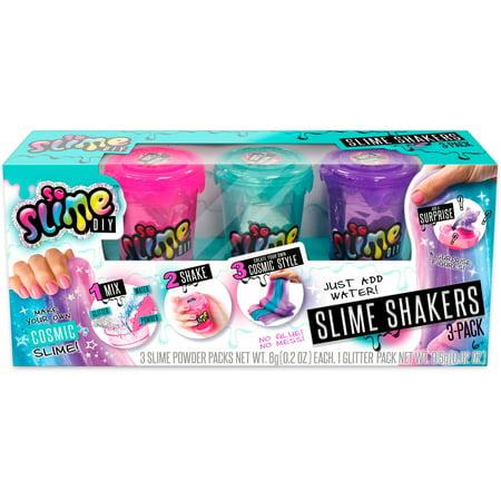 SoSlime DIY 3-Pack of Rainbow Cosmic Slime Shakers