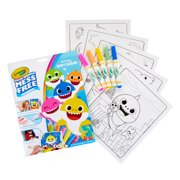 Color Wonder Mess Free Baby Shark Coloring Set, 18 Pieces, Gift for Kids
