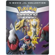 Pokemon Diamond And Pearl Movie 4-pack (Blu-ray) by