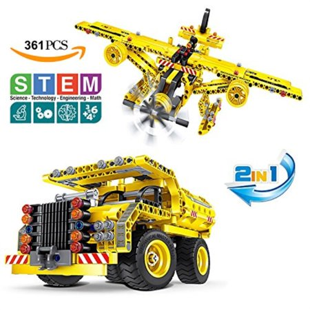 Building Toys Gifts for Boys and Girls, Educational STEM Learning Sets for 7, 8, 9, 10-Year-Old| Best Creative Construction