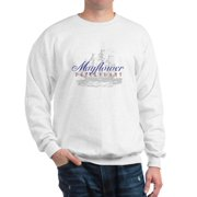 CafePress - Mayflower Descendant - - Crew Neck Sweatshirt