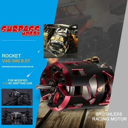 SURPASS HOBBY ROCKET V4S 540 8 5T Dual Sensored Brushless