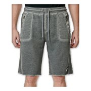 Buffalo David Bitton Mens Firlato Faux-Fleece Athletic Sweat Shorts