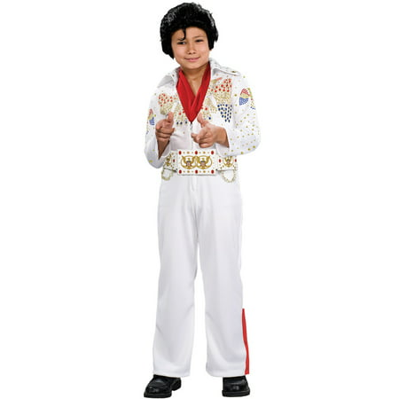 Deluxe Elvis Toddler Halloween - Female Elvis Costumes