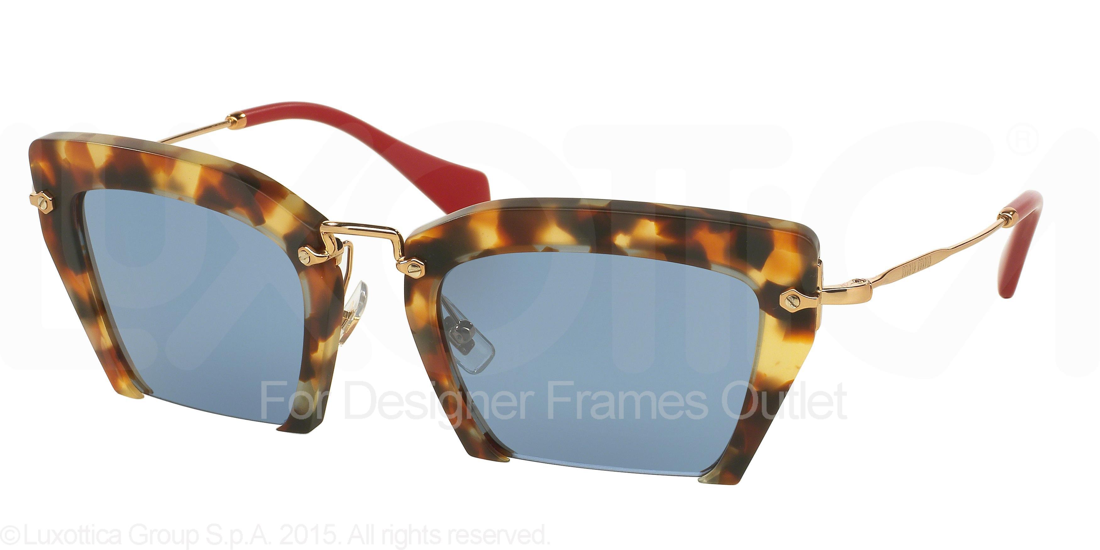 ce9dd1781b5d Miu Miu MU 10QS UA54N0 - Sand Medium Havana - MIU MIU Sunglasses MU 10QS  UA54N0 Sand Medium Havana 54MM - Walmart.com