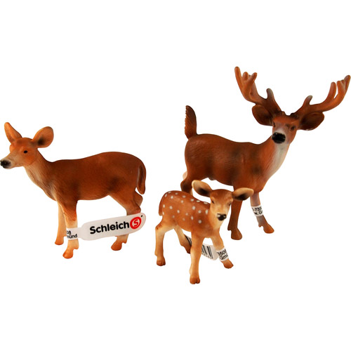 Schleich Deer Family Figurine Set