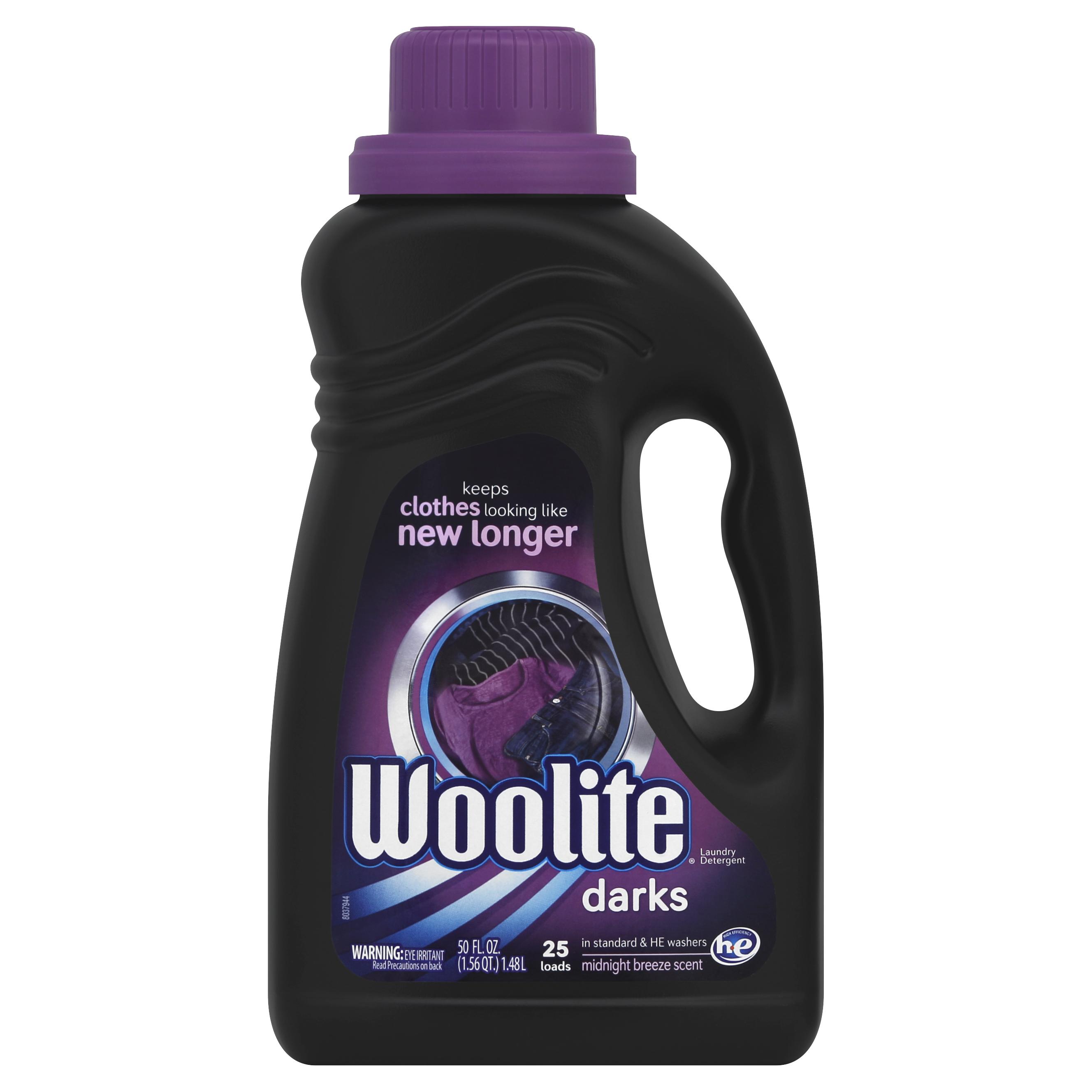 Woolite Dark Care Laundry Detergent, 50 Ounce