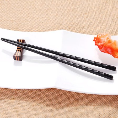1 PCS Japanese Chopstick Durable Alloy Non-Slip Sushi Chop Sticks Chinese Gift Octagonal water (Regal China Japan)