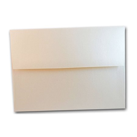 metallic quartz off white a7 invitation envelopes 25 pk walmart com