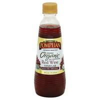 Pompeian Organic Red Wine Vinegar 16 Fl Oz
