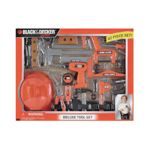 Black & Decker Junior Deluxe Tool Playset