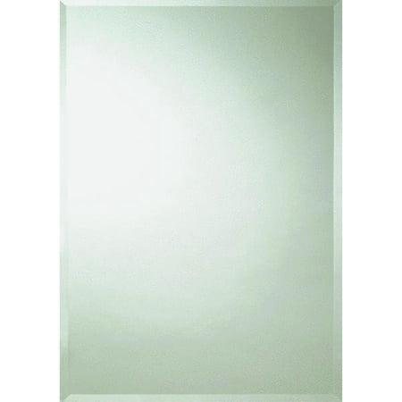 Erias home designs frameless beveled edge wall mirror for Erias home designs mirror mastic