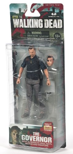 McFarlane Toys The Walking Dead TV Series 4 The Governor Action Figure by McFarlane Toys