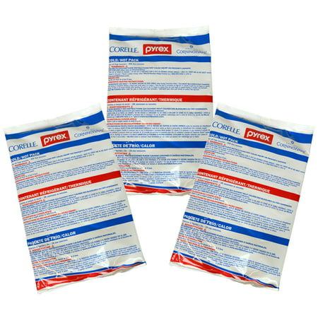 Pyrex Portables - Pyrex Portables Large Hot/Cold Unipack (3-Pack)