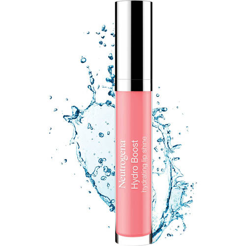 Neutrogena Hydro Boost Hydrating Lip Shine, Pink Sorbet Color