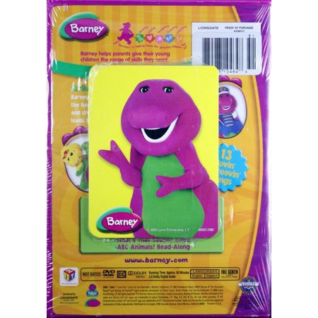 Barney Movin And Groovin With Flashcards Full Frame Best