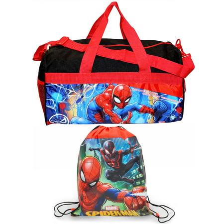 Boys Spider-Man Duffel Bag 18