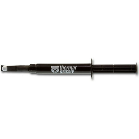 Thermal Grizzly Hydronaut Thermal Grease Paste - 26.0 Grams Thermal paste with excellent thermal conductivity, designed for overclocked and watercooled systems. Delivered in easy-to-apply syringe with 26.0g paste. Thermal Conductivity of this product is 11.8 W/mk and thermal resistance of 0.0076 K/W.