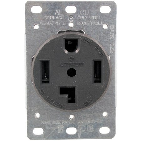 No Logo 278 Single-Flush Dryer Receptacle (4 wire) ()