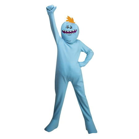 Rick And Morty Mr Meeseeks Boys Costume](Rick Flair Costume)