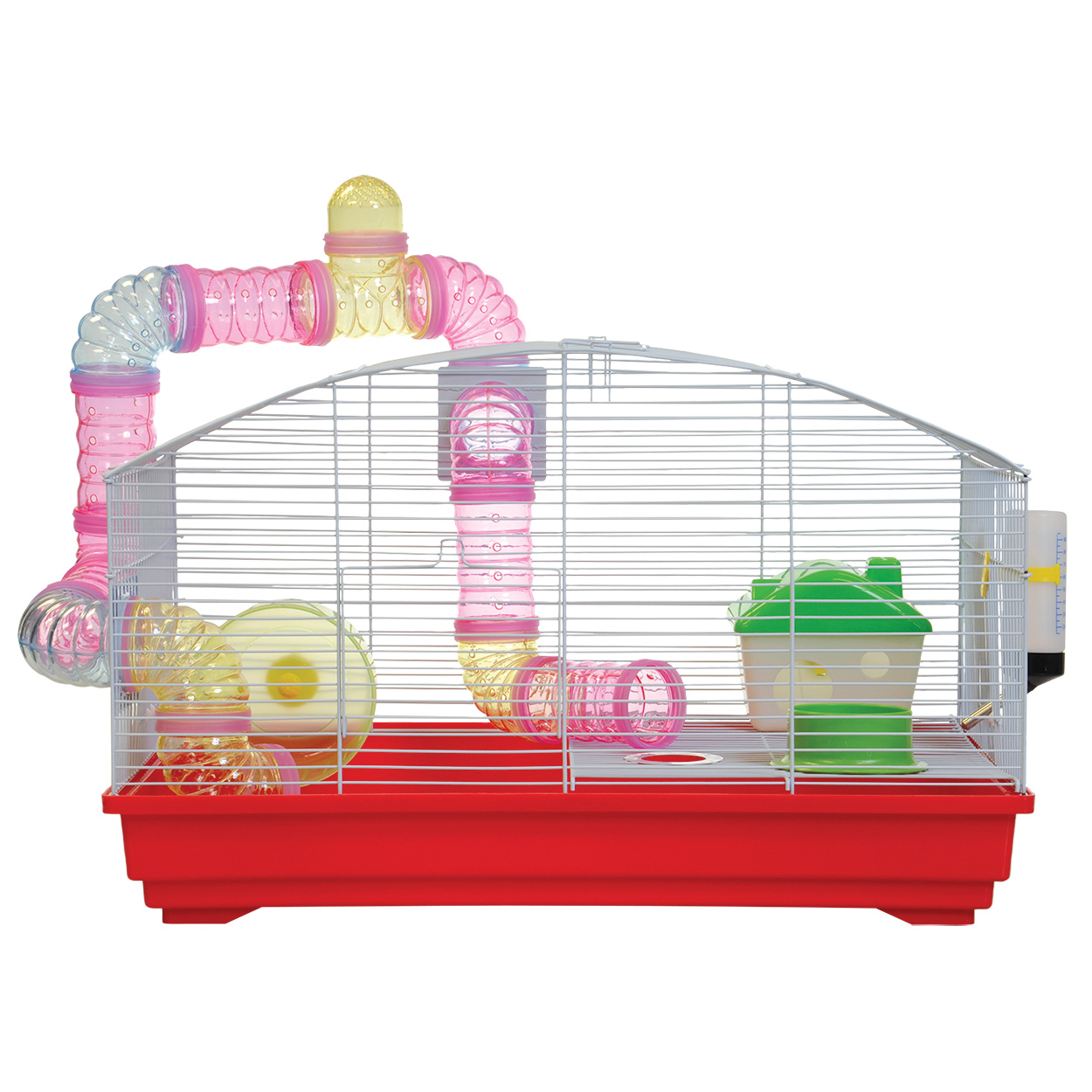 Animal Treasures Deluxe Hamster Kit Red by