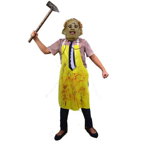The Texas Chainsaw Massacre Child Costume & Mask Standard (Chainsaw Costume)
