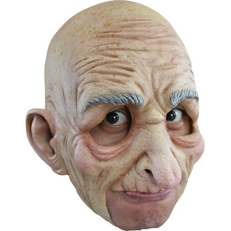 Old Man Chinless Mask Adult Halloween Accessory