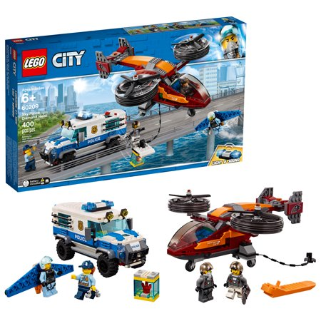 Lego city police sky police diamond heist 60209 building set - Lego camion police ...